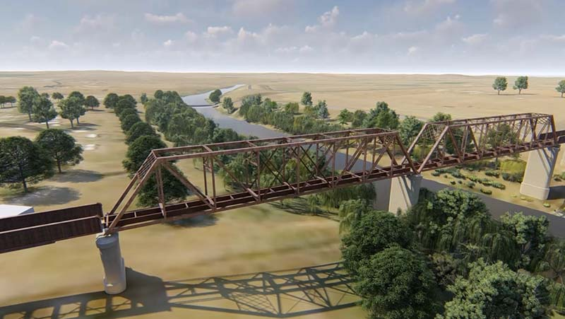 Manilla Viaduct - A digital railway preserves the past and informs the future.