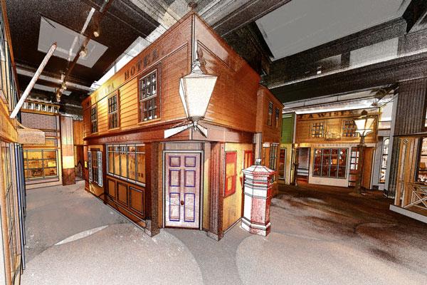 Point Cloud of Auckland Museum exhibit