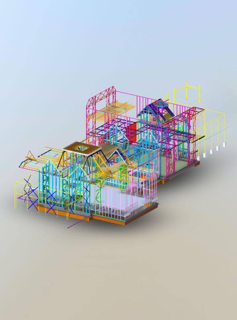 Rotorua Museum Structural Model